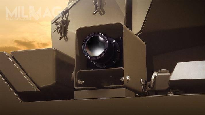 W porównaniu zobecnie stosowanymi kamerami pole widzenia wpoziomie zostało zwiększone z40 do120 stopni, awpionie z30 do75 stopni. Pole widzenia poszczególnych kamer nakłada się nasiebie, dzięki czemu załoga ma zapewniony 360-stopniowy obraz pola walki wokół swojego pojazdu / Grafiki: BAE Systems