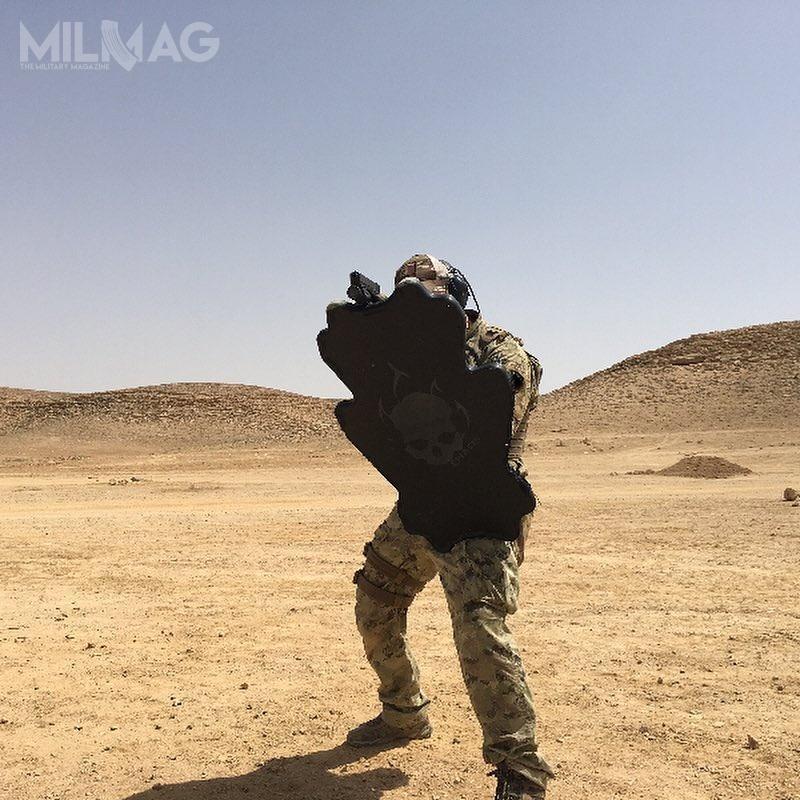 W zależności odrodzaju tarcze są odporne naostrzał zbroni  zasilanej amunicją do7,62 mm x 51 NATO włącznie.