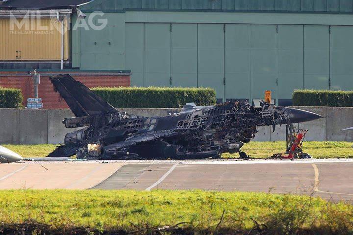 Jak dotąd złącznie 54 F-16 służących wbelgijskich siłach zbrojnych, nieodnotowano żadnych strat sprzętowych. /Zdjęcie: Luchtkomponent