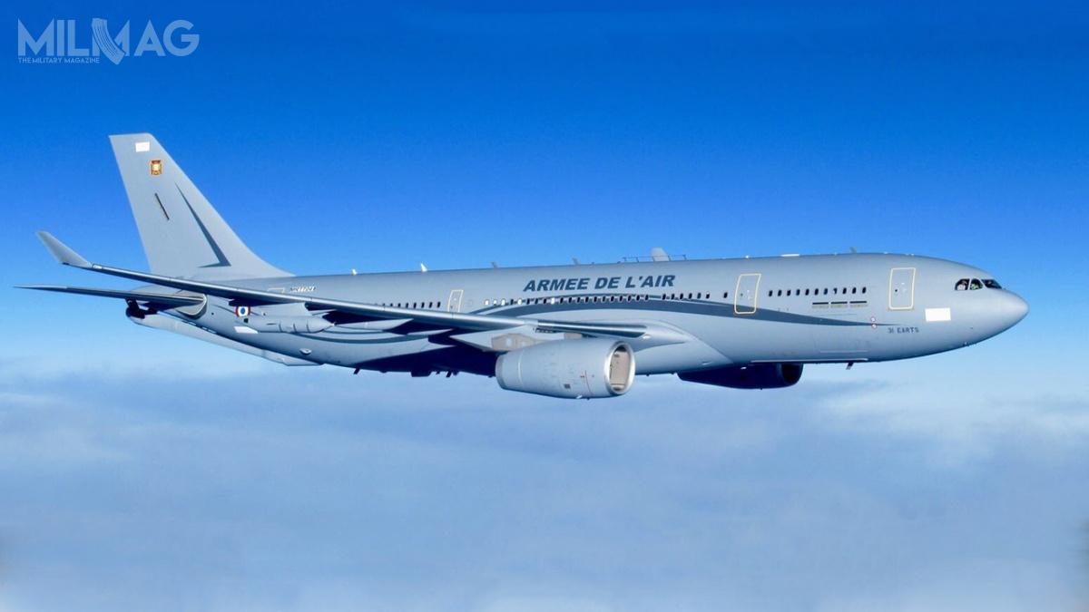 Pierwotnie Francja była zainteresowana 14 samolotami A330 MRTT, później zamówienie zredukowano o2płatowce. Niewykluczone jednak, żeostatecznie zostanie zamówionych 15 samolotów. /Zdjęcie: Ministerstwo ds.Sił Zbrojnych Francji