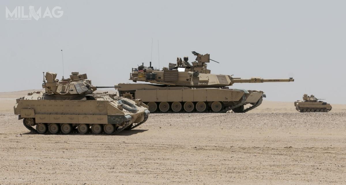 Pojazdy zrodziny NGCV są kolejną próbą zastąpienia wlinii czołgów M1 Abrams ibojowych wozów piechoty M2 Bradley. /Zdjęcie: US Army