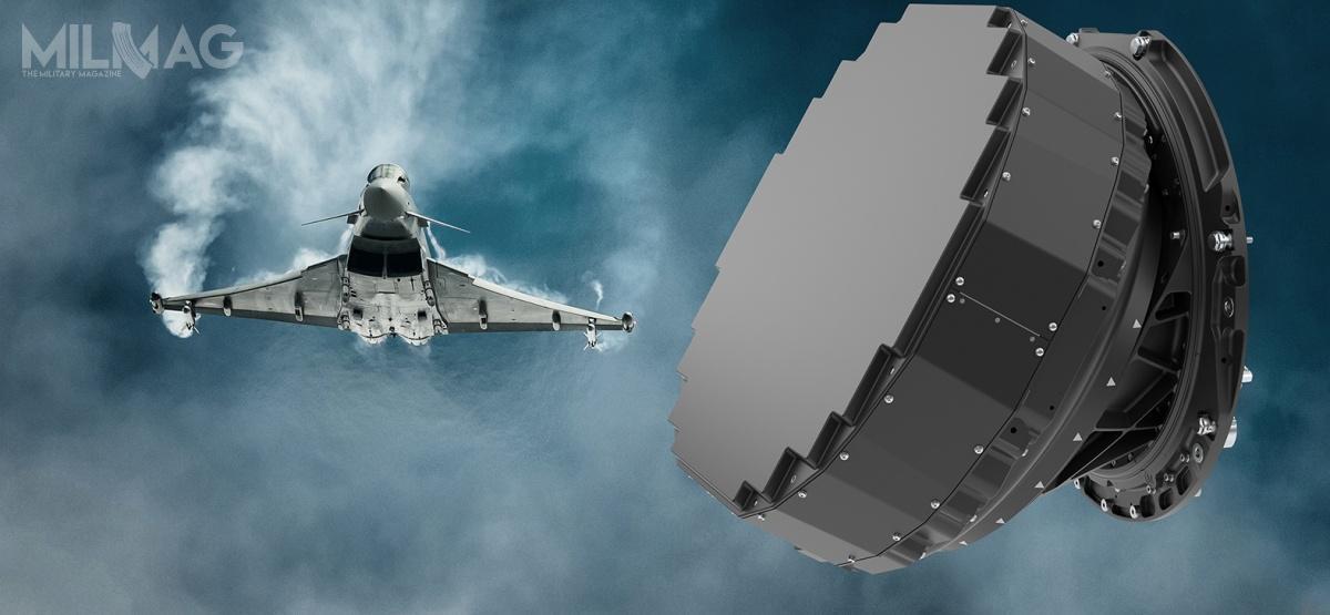 Antena radaru Captor E-Scan, wcześniej znanego jako CAESAR (CAPTOR Active Electronically Scanned Array Radar), składa się zokoło 1500 modułów nadawczo-odbiorczych, które zapewniają o50% większe pole widzenia, wzakresie wykrywania, identyfikacji inamierzania celów naziemnych, nawodnych ipowietrznych