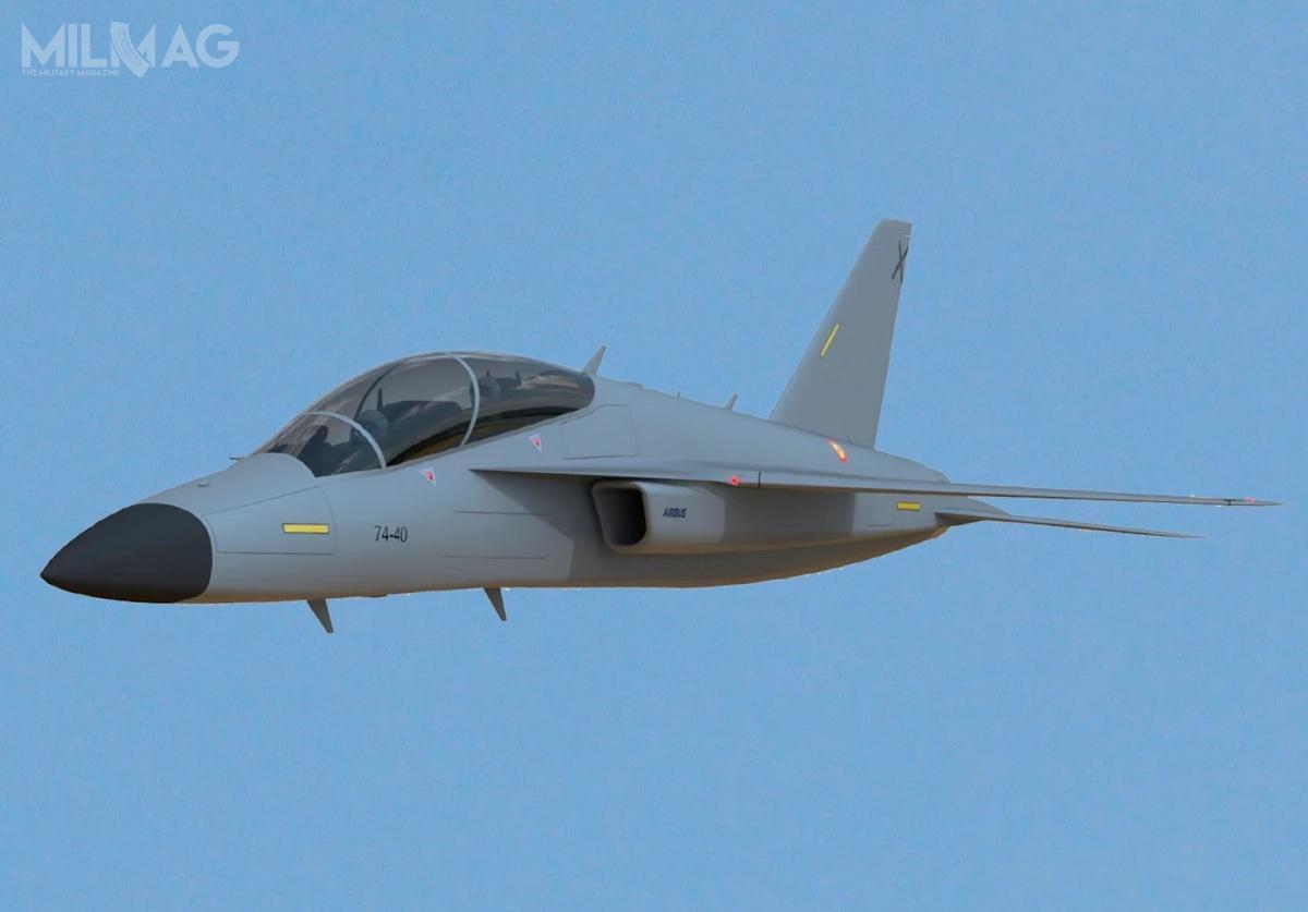 Wizualnie, AFJT jest podobny dorozwijanego wkońcu lat 1990. przezkonsorcjum EADS samolotu szkolenia zaawansowanego iszturmowego Mako/HEAT wramach projektu AT-2000 napotrzeby programu Eurotrainer