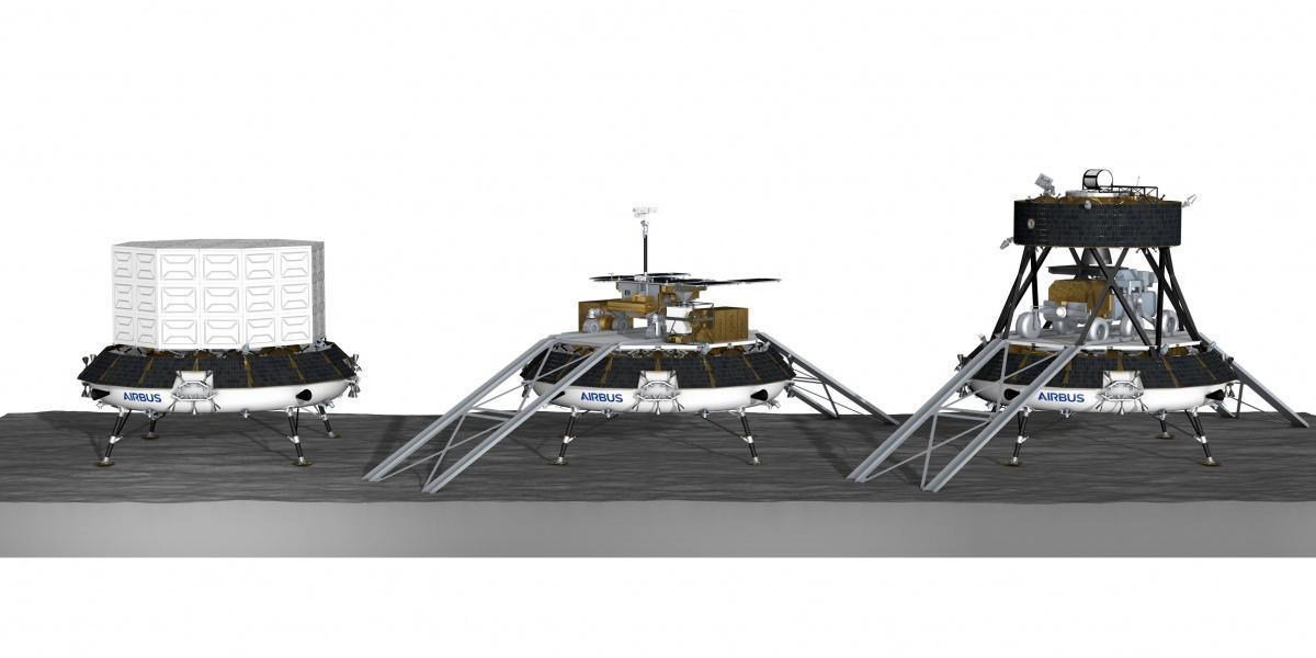Aby osiągnąć trwałą obecność ludzi naKsiężycu, potrzebna będzie znaczna infrastruktura logistyczna, któraniepowstanie bezdostaw dużych ładunków napowierzchnię Srebrnego Globu