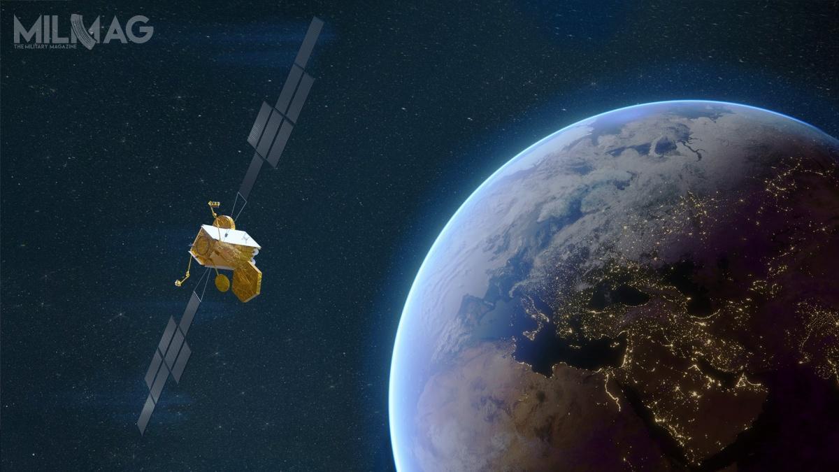 Airbus Defence and Space zakończyła wstępny przegląd projektu wojskowego satelity telekomunikacyjnego Skynet 6A dla ministerstwa obrony Wielkiej Brytanii / Grafika: Airbus Defence and Space