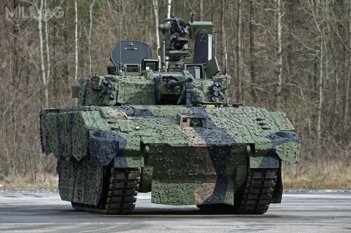 Bojowy wóz piechoty Ajax jest podstawowym wariantem zrodziny pojazdów opancerzonych nowej generacji. / Zdjęcie: Richard Watt, MO Wielkiej Brytanii.