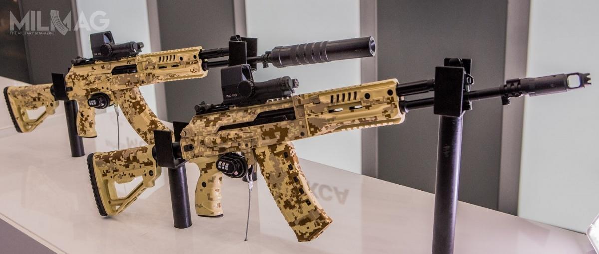 Rosyjskim siłom zbrojnym proponowane są dwa nowe modele broni zIżewska – AK-12 doamunicji 5,45 mm x 39 wz. 74 iAK-15 donaboju 7,62 mm x 39 wz. 43 / Zdjęcia: Koncern Kałasznikow