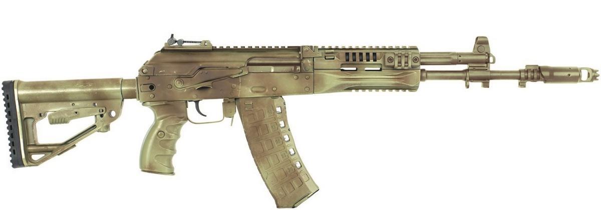 Koncern Kałasznikow poinformował ozakończeniu prób wojskowych 5,45-mm karabinka automatycznego AK-12. Tojuż drugi, nieco uproszczony, utechnologiczniony itańszy model AK-12 zIżewska, któregocena szacowana jest na60 tys. rubli (3,8 tys. zł)