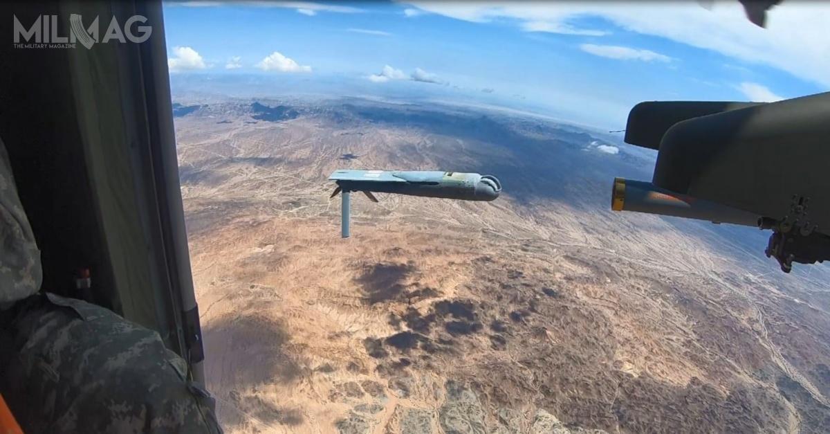 Program US Army okryptonimie Air-launched Effects ma nacelu zbadanie wykonalności wystrzeliwania isterowania bezzałogowcami ześmigłowców. / Zdjęcie: US Army Combat Capabilities Development Command Aviation & Missile Center