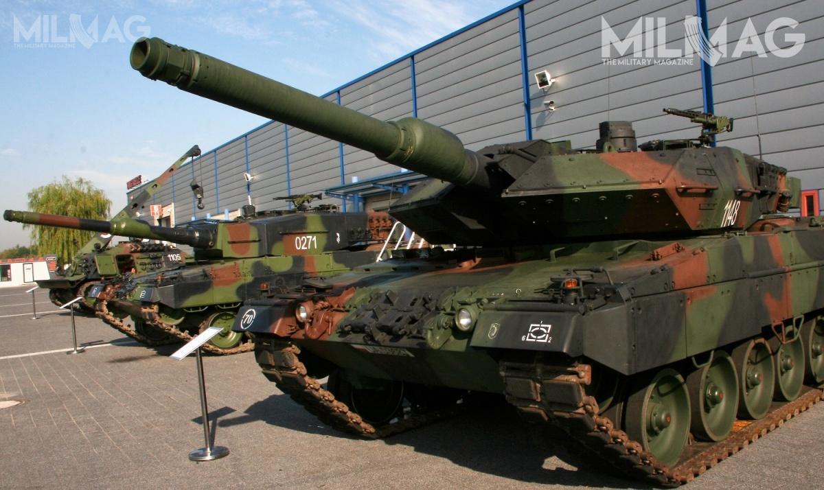 Wojsko Polskie rozpoczęło poszukiwania nowej amunicji 120 mm x 570 zpociskiem przeciwpancernym podkalibrowym APFSDS doczołgów Leopard 2A4/2PL iLeopard 2A5 / Zdjęcie: Jakub Link-Lenczowski