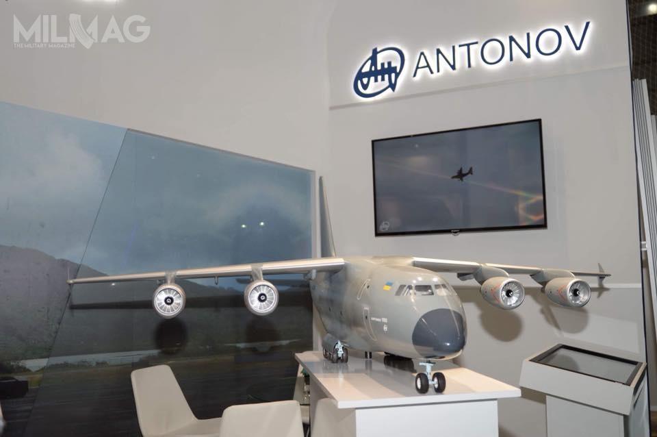 Makieta An-188 została ujawniona podczas pierwszej edycji tureckich pokazów lotniczych Eurasia Air Show / Zdjęcie: SC UkrOboronProm