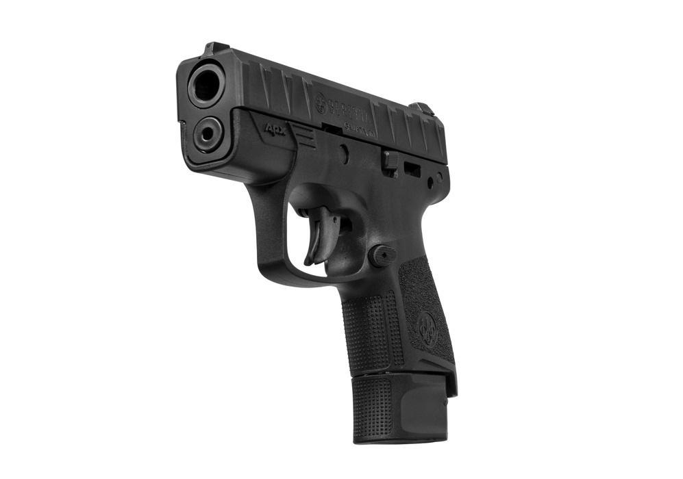 Beretta PAX Carry jest pistoletem zasilanym nabojem 9mm x 19 przeznaczonym docodziennego noszenia uzupełniającym linię APX zawierającą 5innych modeli.