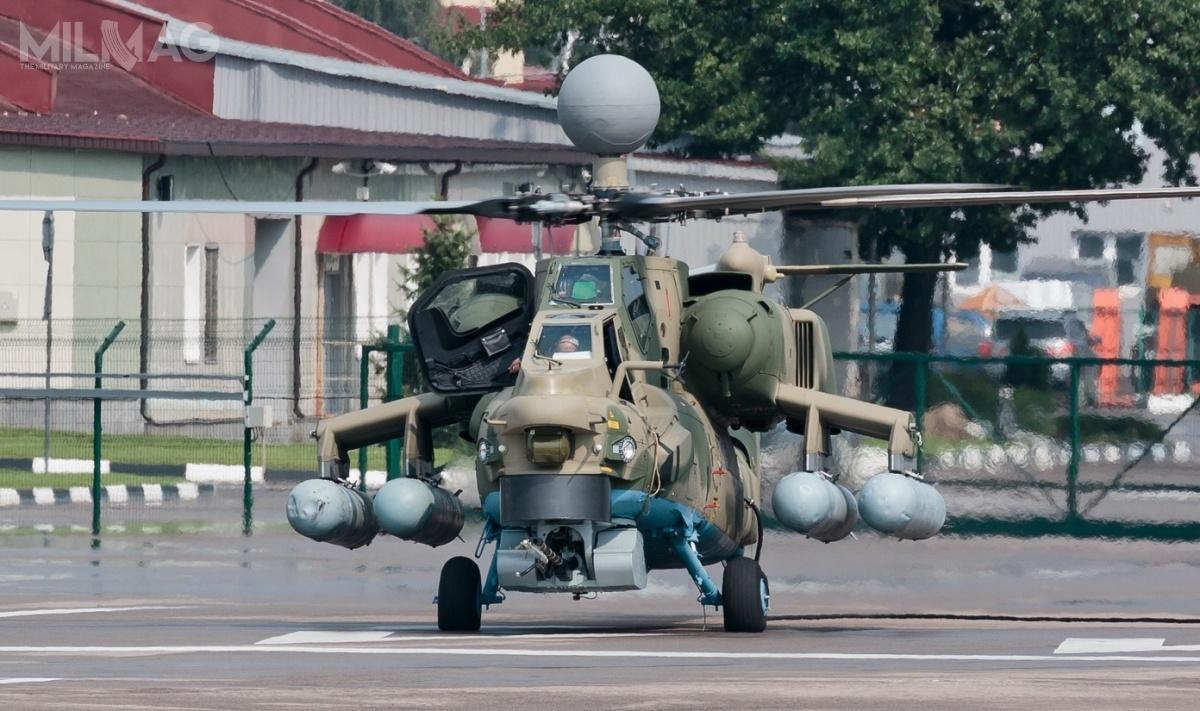 Mi-28NM wyposażono wradar N025 isilniki turbowałowe Klimow WK-2500P-01/PS. Obecne uzbrojenie stanową ppk 9M113M Chrizantiema-M ozasięgu 10 km istarsze 9M120-1 Ataka-WM, które mogą zostać zastąpione przezperspektywiczne ppk LMUR ozasięgu 25 km