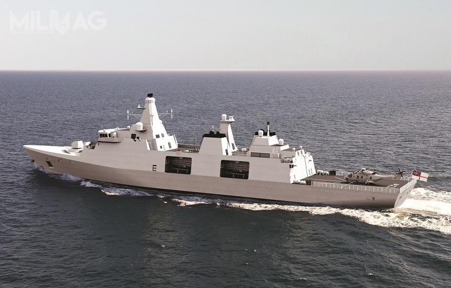 W poprzednich latach duńska spółka OMT składała bezskuteczne propozycje sprzedaży projektu fregat rakietowych typu Iver Huitfeldt dom.in.Australii, Polski iUSA. Budowa elementów okrętów ma być przeprowadzana wstoczniach Babcock Appledore wNorth Devon, Ferguson Marine wClyde, Harland iWolff wBelfaście, natomiast ich integracja wBabcock Rosyth wDunfermline. Oprócz sześciu najważniejszych wykonawców projektu, przewidziano udział ponad setki poddostawców / Grafiki: Team 31