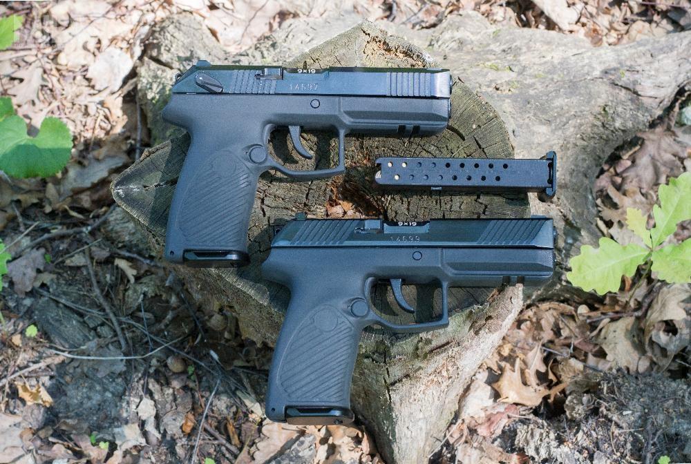 W zależności odwersji 9-mm pistolet samopowtarzalny Aspid będzie miał bezamunicji masę od0,8 do1kg. Produkcja seryjna ma rozpocząć się napoczątku 2021 roku. Broń ma żywotność deklarowaną przezproducenta napoziomie 25 tysięcy strzałów / Zdjęcia: Rostiech, CNIIToczMasz