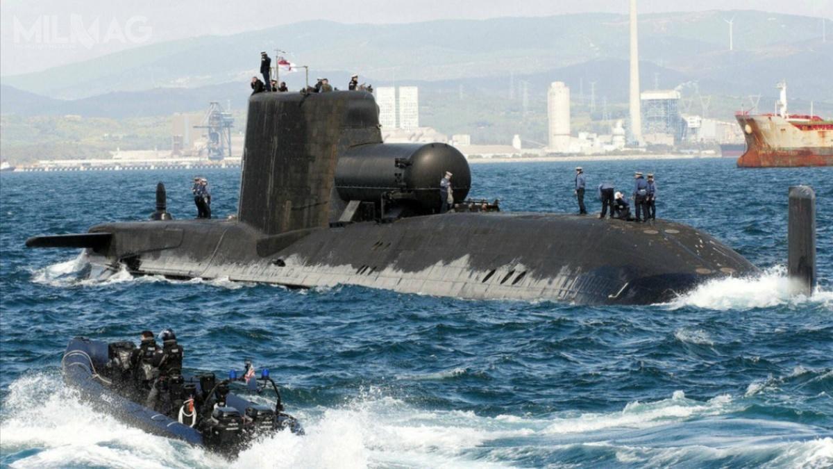 Ministerstwo Obrony Wielkiej Brytanii zamówiło łącznie siedem wielozadaniowych okrętów podwodnych onapędzie nuklearnym typu Astute / Zdjęcie: Royal Navy