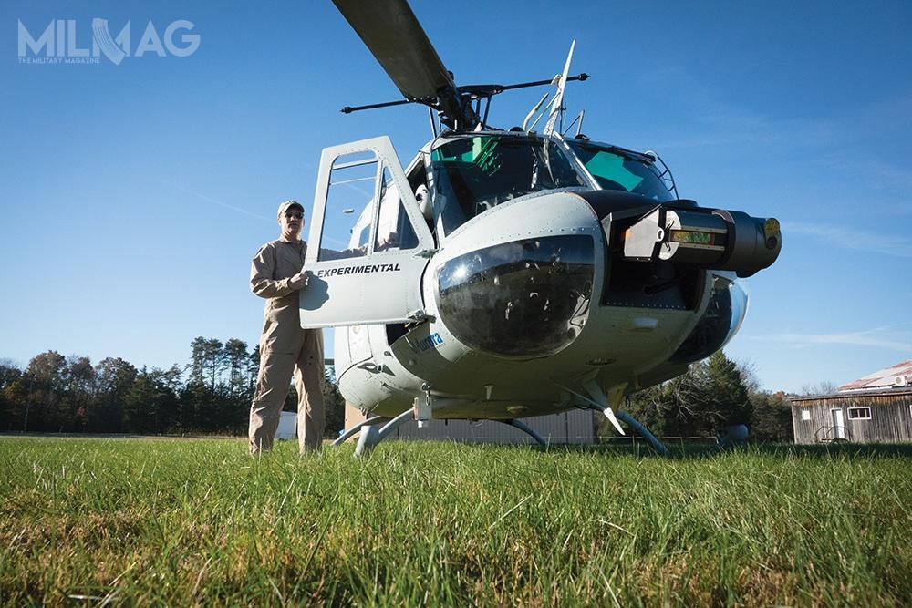 Jak narazie AEH-1 otrzymał specjalny certyfikat odFederalnej Administracji Lotnictwa (FAA) ima zezwolenie naloty podwarunkiem obecności napokładzie pilota kontrolującego wskazania przyrządów. /Zdjęcie: Aurora Flight Sciences