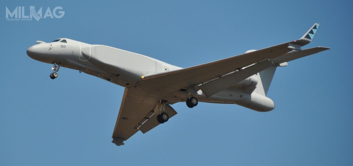 G550 są użytkowane instytucje rządowe w15 państwach. Trzynaście znich tosamoloty walki radioelektronicznej czydowodzenia ikontroli / Zdjęcie RSAF