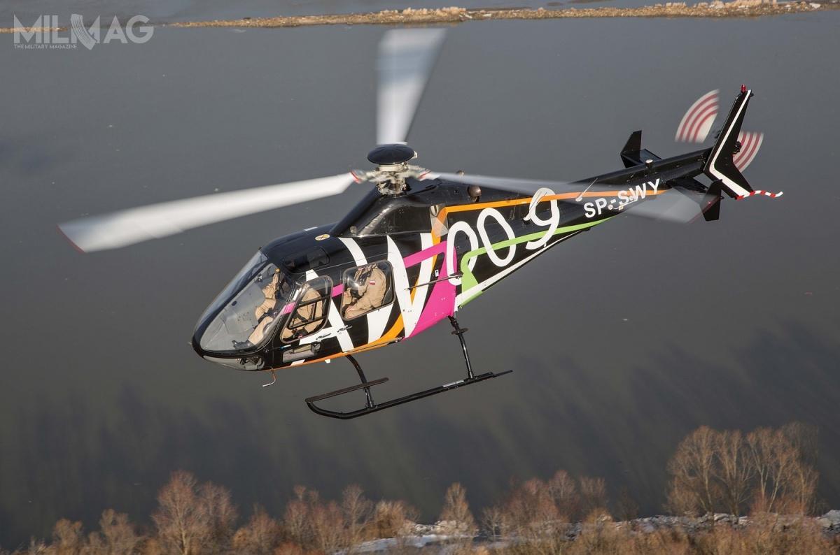 Śmigłowiec AW009 opracowano zmyślą omisjach szkoleniowych, transporcie pasażerskim, zadaniach zzakresu utrzymywania porządku ibezpieczeństwa publicznego orazratownictwa medycznego. Poraz pierwszy zaprezentowano go w2016 podczas targów HAI Heli-Expo 2016 wLouisville wstanie Kentucky / Zdjęcie: Leonardo