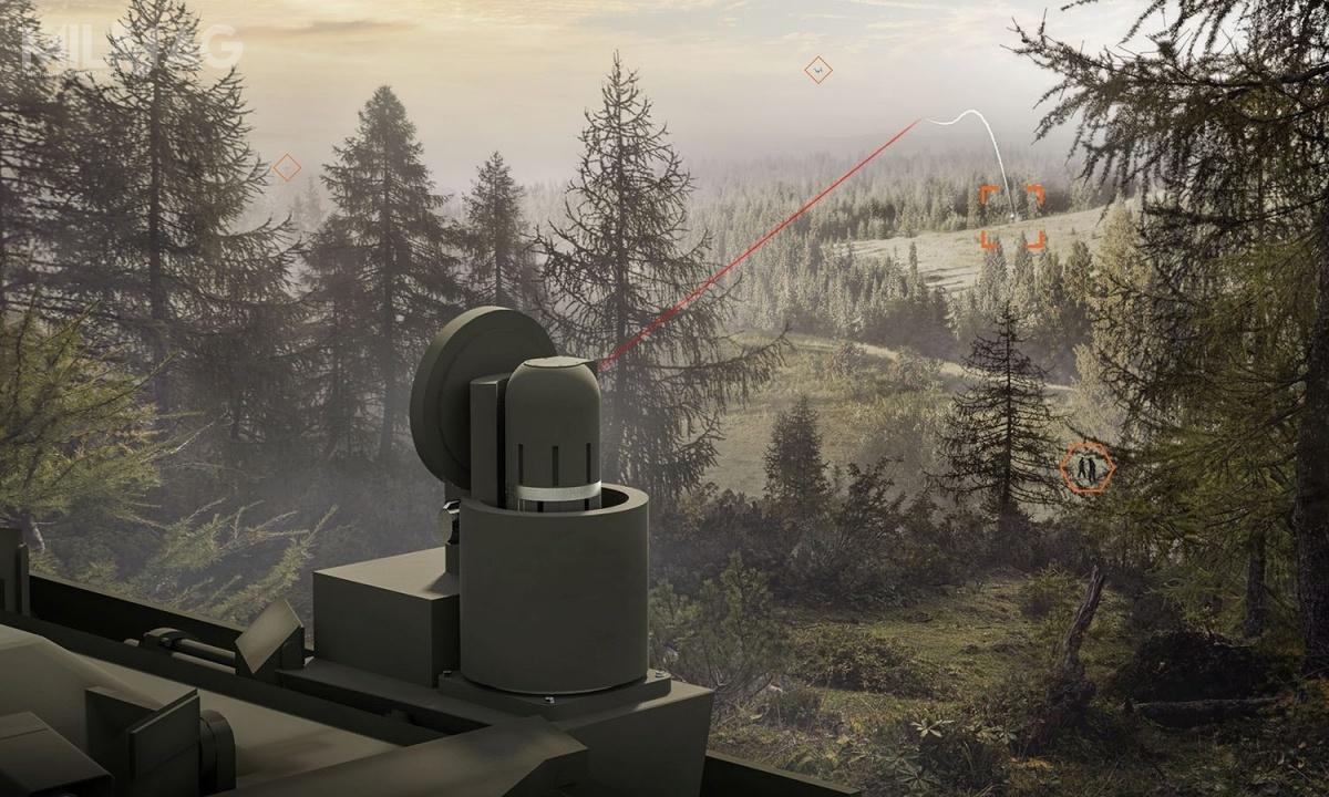 Rozwojem systemu przeciwdziałania elektronicznego Raven zajmuje się dział Soldier and Vehicle Electronics wCentrum Doskonałości BAE Systems, Inc. wAustin wstanie Teksas. / Grafika: BAE Systems