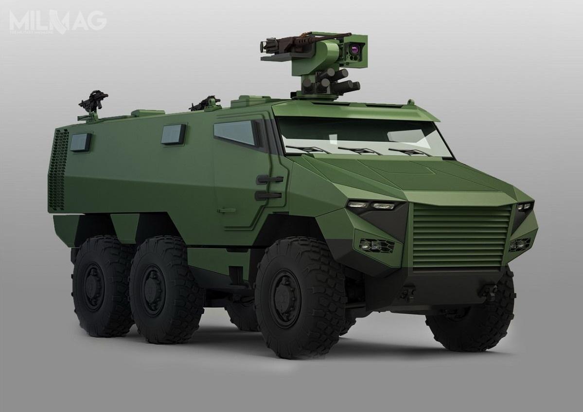 Belgia chce nawiązać partnerstwo zFrancją wzakresie eksploatacji wozów rozpoznawczych Jaguar EBRC itransporterów opancerzonych Griffon VBMR, obejmującej wspólne szkolenia, organizację iwsparcie logistyczne. /Grafika: Nexter Systems