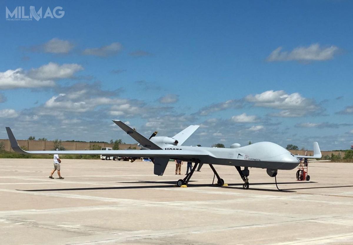 Belgia stanie się drugim, poWielkiej Brytanii, użytkownikiem bsl MQ-9B SkyGuardian, które otrzymały lokalne oznaczenie Protector RG Mk. 1. /Zdjęcie: RAF