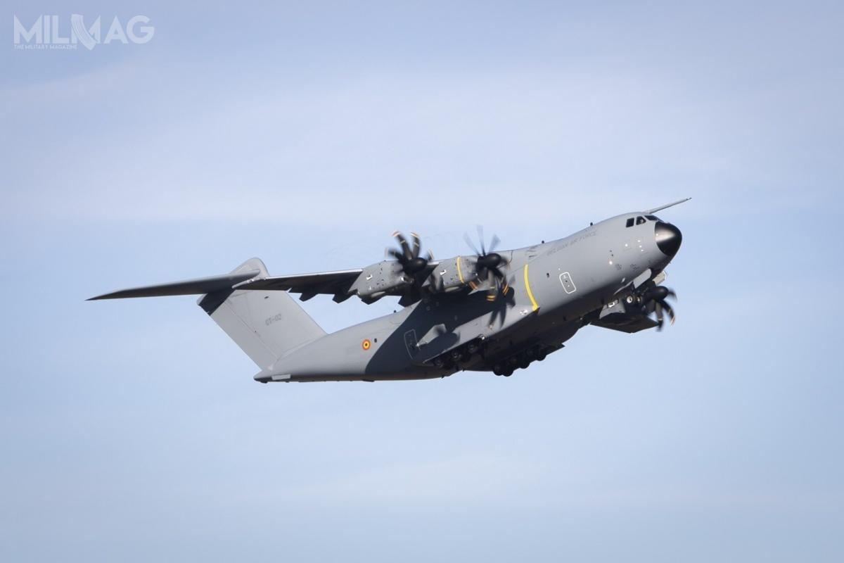 Europejska spółka Airbus Defence and Space dostarczyła Komponentowi Lotniczemu Sił Zbrojnych Belgii pierwszy zsiedmiu zamówionych samolotów transportowych A400M-180 Atlas