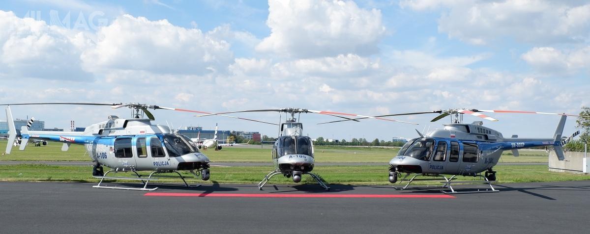 Siedmioosobowy śmigłowiec Bell 407 GXi tozmodyfikowany model 407 GXP. Zadebiutował 27 lutego 2018 podczas wystawy Heli-Expo wLas Vegas / Zdjęcie: Bell Textron