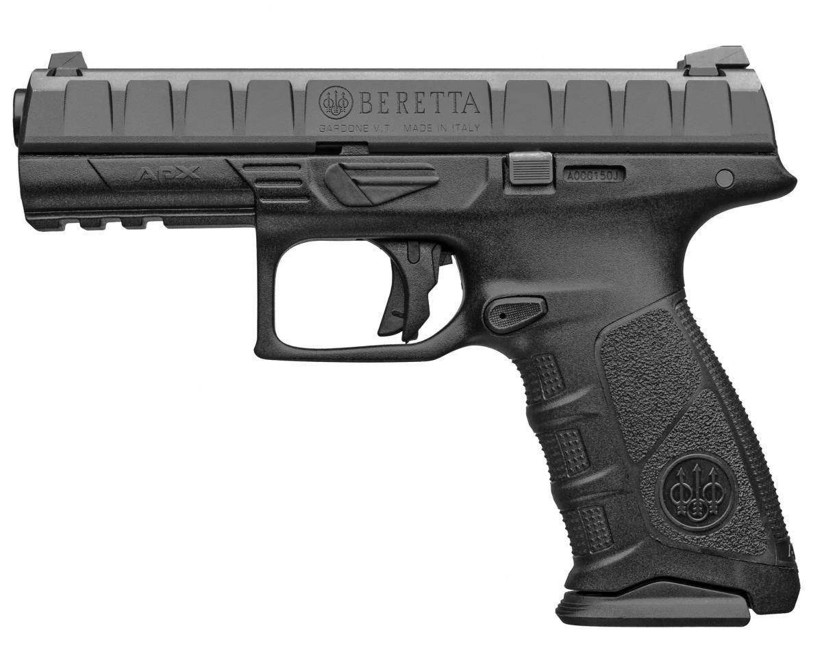 Włoska spółka Fabbrica d'Armi Pietro Beretta wygrała zmodelem APX postępowanie nadostawy pistoletów dla Brazylii. Umowa ramowa ma obejmować dostawy 159 tys. konstrukcji wciągu 1,5 roku. / Zdjęcie: Beretta
