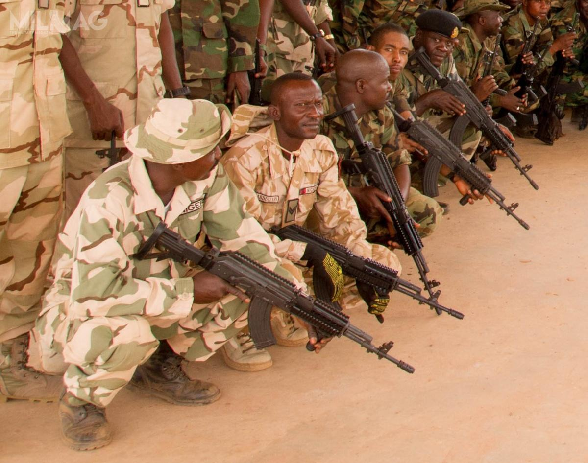 1500 Beryl M762 assault rifles chambered in 7.62x39 mm were sent to Nigeria in 2015 by Arms Factory. Rifles are used mostly by elite Nigerian Armed Forces 72th Mobile Strike Force unit, combating Boko Harram organization / Photo: Fabryka Broni