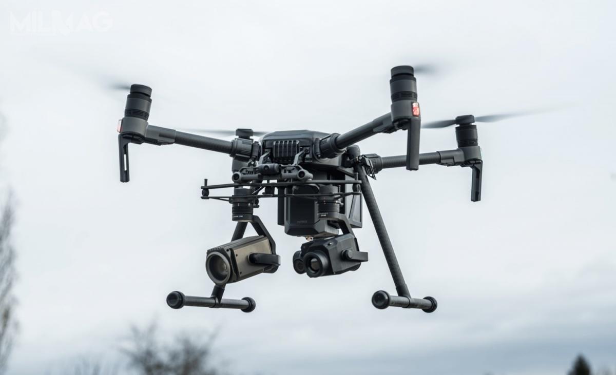 Policja odebrała największą partię bezzałogowców wswojej historii. Funkcjonariuszom dostarczono 38 urządzeń DJI Enterprise Matrice 200v2 i210v2 owartości ponad 5,6 mln zł / Zdjęcie: Dilectro