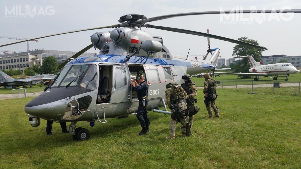 Do operacji antyterrorystycznych wykorzystywane są również śmigłowce SW3 Sokół /Zdjęcia: Archiwum Militarnego Magazynu MILMAG