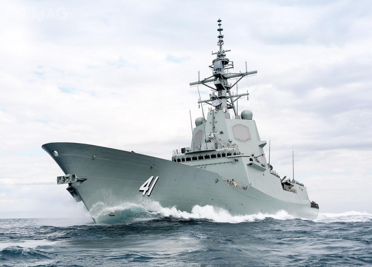 Na przełomie kwietnia imaja 2018, przyszły niszczyciel rakietowy HMAS Brisbane (DDG 41) przeszedł pierwsze testy odbiorcze (Category 5Sea Acceptance Trials), poczym został przekazany odbiorcy.