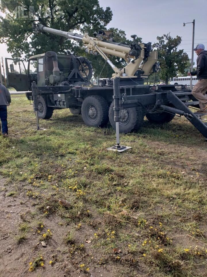 Brutus może być opcją nazapotrzebowanie US Army nahaubicę nowej generacji, októrą zapytanie oinformację opublikowano wlutym. /Zdjęcia: 75. Brygada Artylerii Polowej
