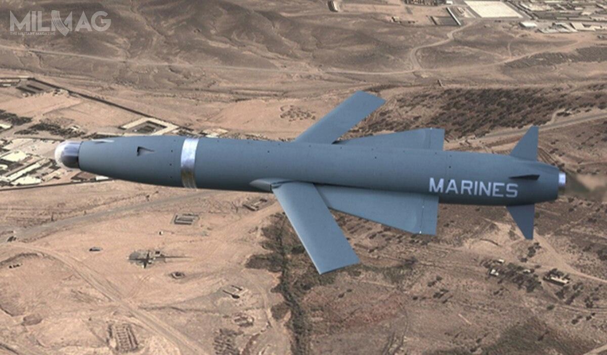 Autonomiczny bezzałogowiec AFARS swoim wyglądem może przypominać pocisk manewrujący iwrazie potrzeby pełnić zadania nietylkorozpoznania, aletakże ofensywne jako amunicja krążąca. /Grafika: MCWL