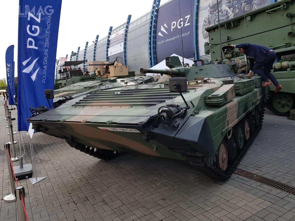Zmodyfikowany BWR-1D wpisuje się wprogram modernizacji bojowych wozów rozpoznawczych Wojska Polskiego, którypotrwa do2022 / Zdjęcia: Jakub Link-Lenczowski