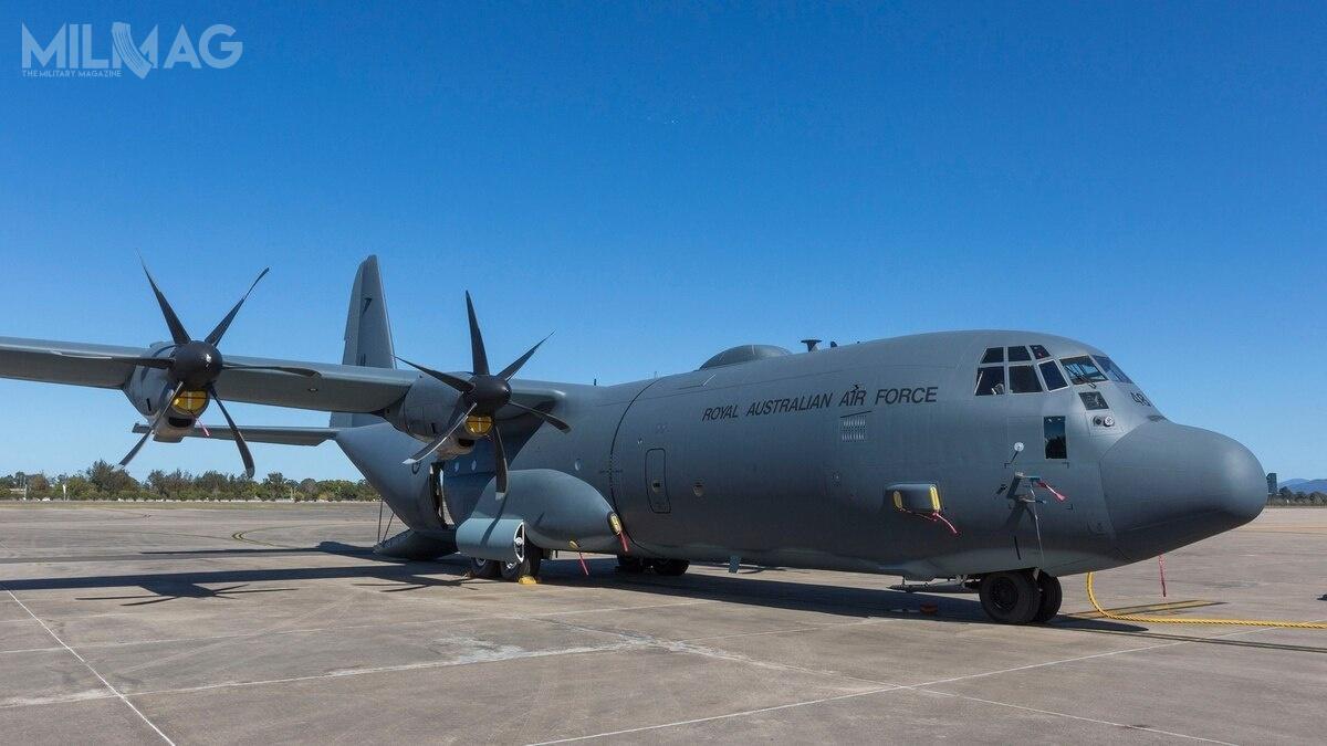 Wybór samolotów transportowych C-130J-30 Super Hercules wdużej mierze wynikał zkompatybilności zaustralijskim lotnictwem, które jest najważniejszym partnerem lotnictwa Nowej Zelandii / Zdjęcie: Departament Obrony Australii