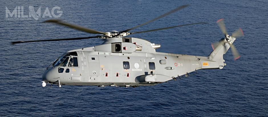 Po wycofaniu się Airbus Helicopters wpostępowaniu pozostała oferta Wytwórnia Sprzętu Komunikacyjnego PZL Świdnik, reprezentująca włoski koncern Leonardo, któryzaoferował model AW101 / Zdjęcie: Leonardo