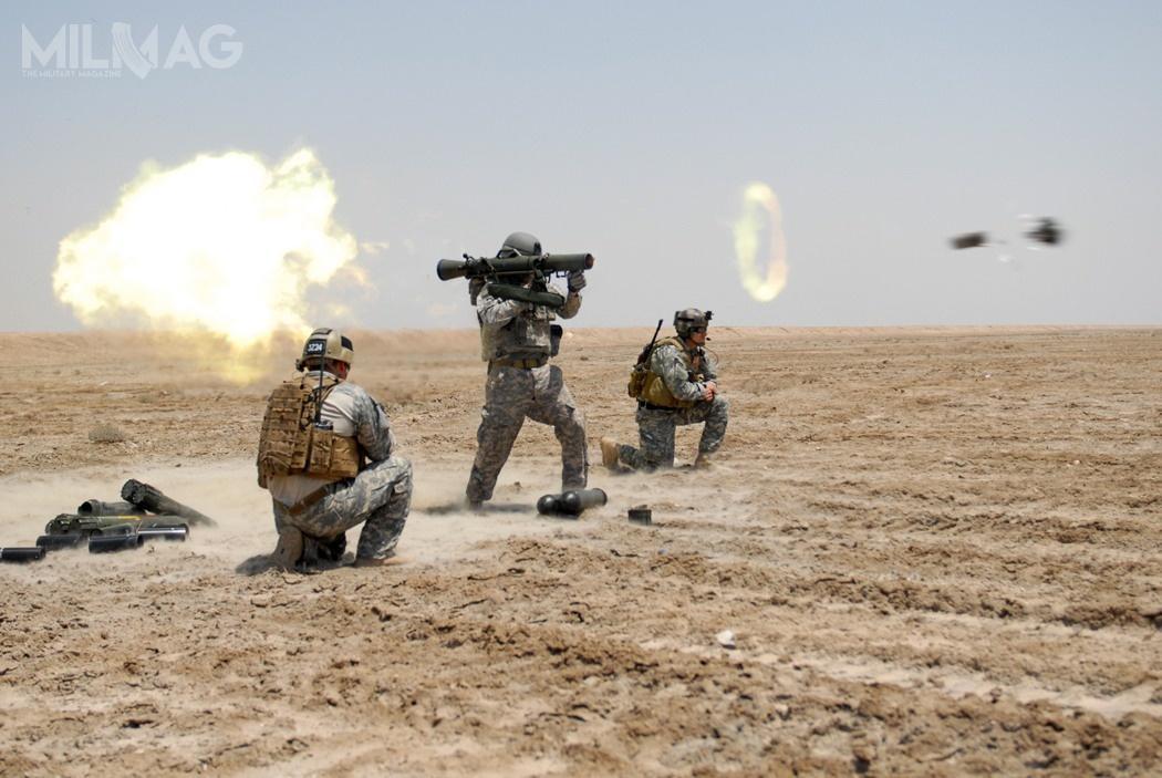 W amerykańskich siłach zbrojnych 84-mm granatniki bezodrzutowe zrodziny Carl-Gustaf trafiły dowyposażenia USSOCOM iUS Army Rangers / Zdjęcie: US Army