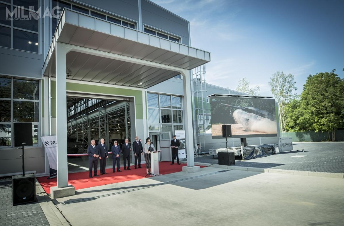 Jak powiedział Sebastian Chwałek, wiceprezes zarządu PGZ, Centrum Serwisowo-Logistyczne jest jednym zelementów, któryma poszerzyć zdolności Grupy domodernizacji iobsługi czołgów Leopard 2.