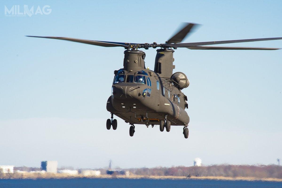 Prace modernizacyjne obejmą łącznie 542 wiropłaty, wtym 473 CH-47F Block Ii69 MH-47G Block I/ Zdjęcie: Boeing