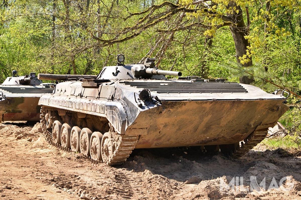 Ewentualna modernizacja obejmie jeden batalion zmechanizowany, czyli etatowo 58 BWP-1 / Zdjęcie: Paweł Ścibiorek