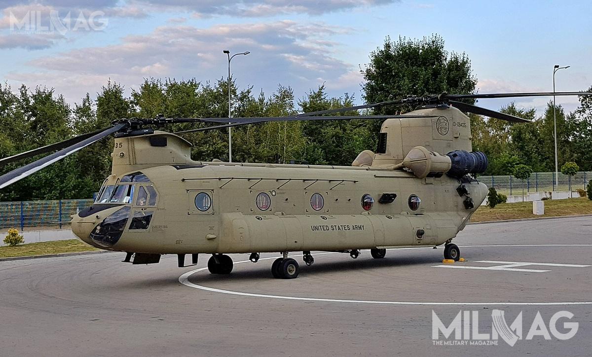 W Powidzu ma stacjonować brygada lotnicza, którabędzie prawdopodobnie złożona ześmigłowców uderzeniowych AH-64 itransportowych UH-60M/CH-47 / Zdjęcie: Jakub Link-Lenczowski