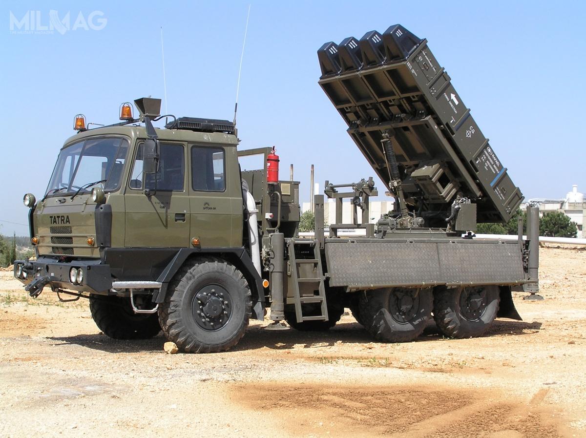 Izraelczycy zaoferowali Czechom możliwość integracji wszystkich elementów systemu SPYDER zpodwoziami Tatra 815 / Zdjęcie: Rafael Advanced Defense Systems
