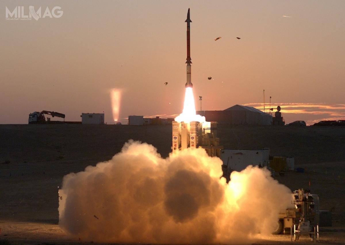 Test zestawu David's Sling 21 grudnia 2015 okryptonimie DST-4. Izraelsko-amerykańskie prace nadsystemem rozpoczęły się w2009. /Zdjęcie: MDA