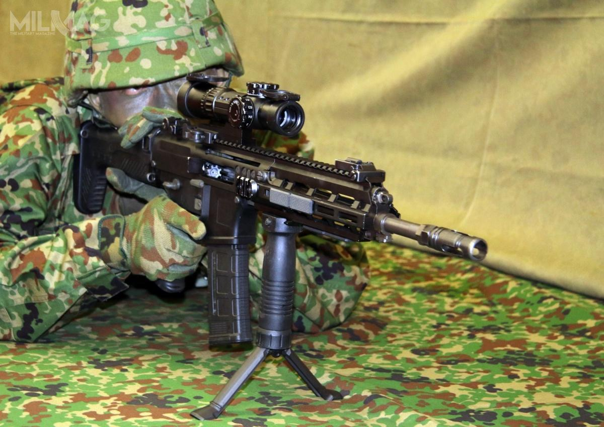 Karabinek typ 20 wyposażono w330-mm lufę. Masa broni wynosi 3,5 kg, długość to783 mm zkolbą maksymalnie skróconą i854 mm zkolbą maksymalnie wysuniętą. Kolba jest pięciopołożeniowa, wyposażona wpodnoszoną poduszkę policzkową.