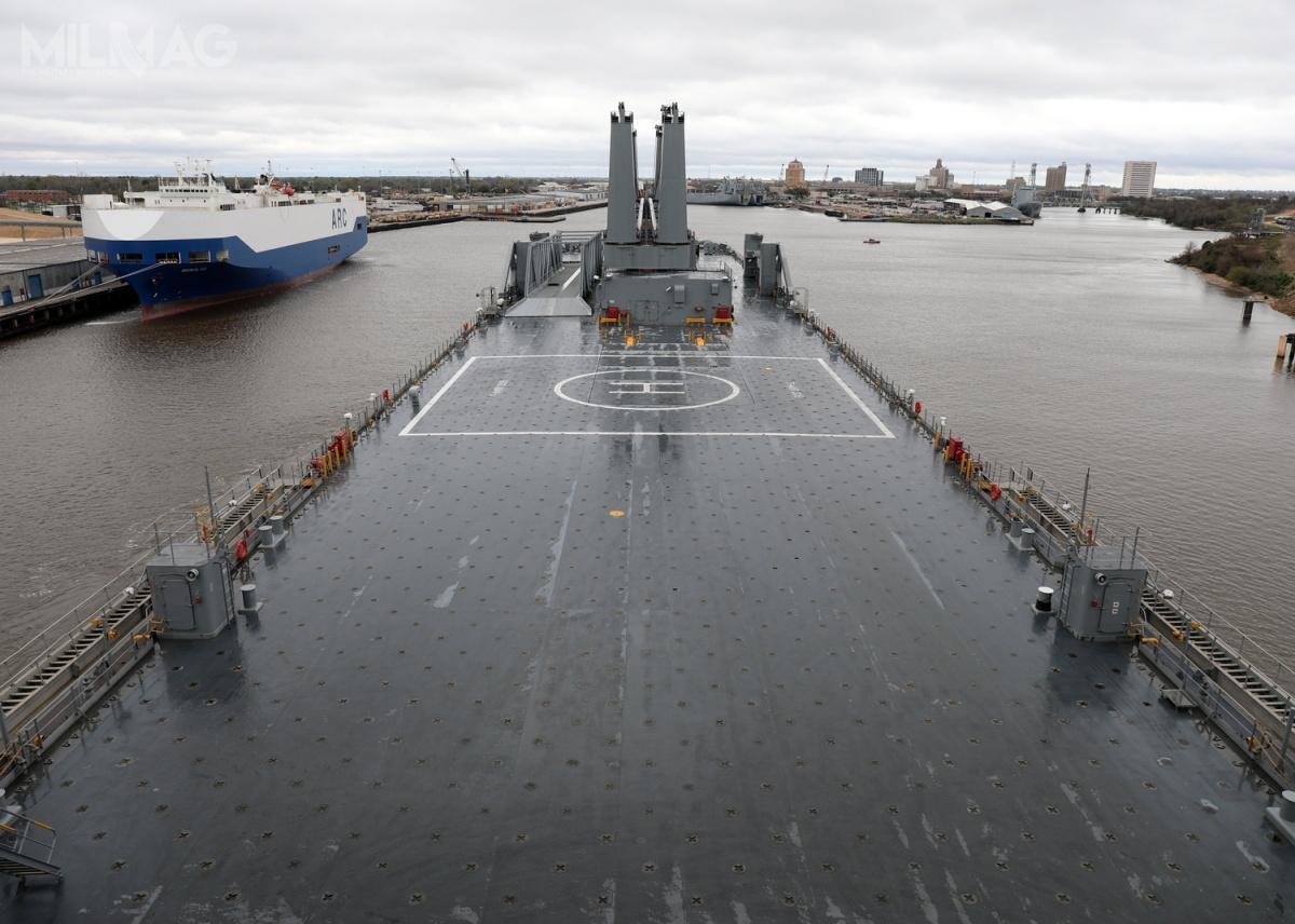 Departament Obrony USA przewiduje, żeokoło 90% sił, środków izasobów, niezbędnych dorealizacji ćwiczenia Defender-Europe 20 musi zostać przerzuconych drogą morską przezAtlantyk