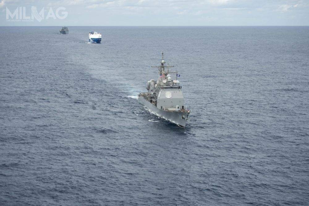 Ostatnia operacja konwojowania przezAtlantyk zudziałem US Navy została zrealizowana w1986 / Zdjęcia: US Navy