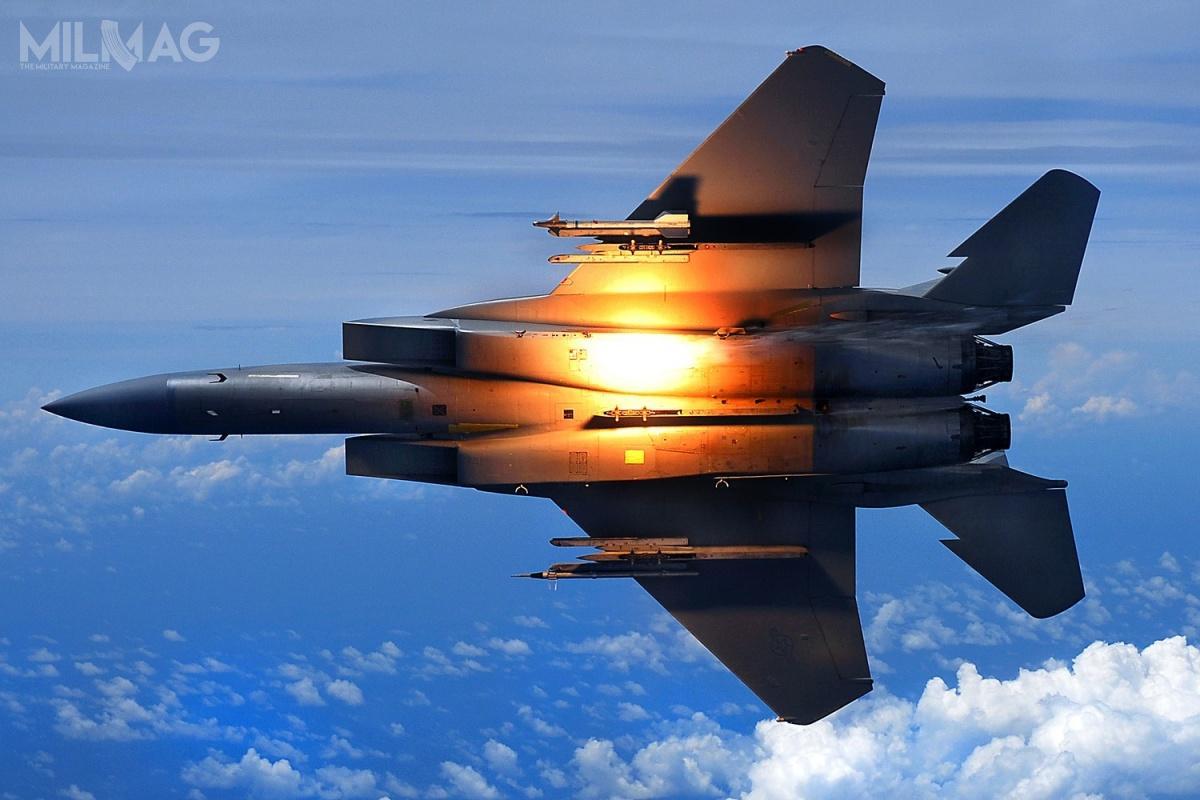 Demonstrator technologii SHiELD zostanie zintegrowany zmyśliwcem przewagi powietrznej Boeing F-15 Eagle /Zdjęcie: Chad Warren, USAF
