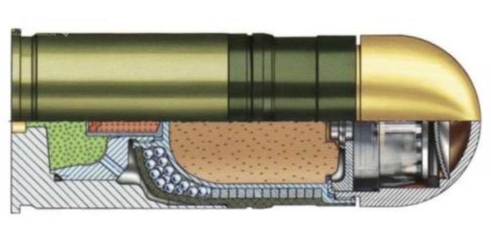 JWN kupił kolejną partię amunicji 40 mm x 53SR DM111 zpociskami odłamkowymi zesmugaczem isamolikwidatorem (HE-PFF-T). Dostarczy ją Griffin Group Defence / Zdjęcia: Remigiusz Wilk, Diehl Defence